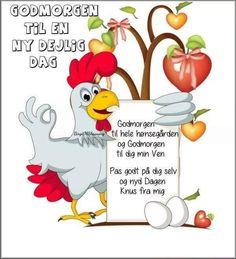 Godmorgen til en ny uge. Good Morning, Pixie, Funny Animals, Happy Birthday, Fictional Characters, Bruges, Art, Buen Dia, Happy Brithday