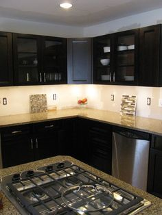 High Power LED Under Cabinet Lighting DIY   Great Looking And BRIGHT @ Only  23w!