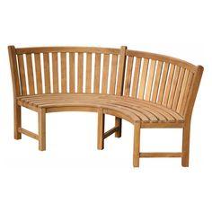 Teak Garden Furniture, Furniture Decor, Outdoor Furniture, Outdoor Decor, Curved Bench, Bbq Kitchen, Furniture Manufacturers, Teak Wood, Shade Garden