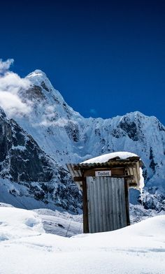Outhouse, Sagarmatha National Park, Nepal. © David Ruiz Luna / 500px