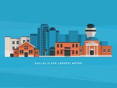 Yay Dallas #illustration #design #inspiration