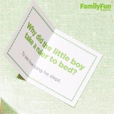 All Jokes Inside: Guarantee a happy meal by slipping a silly joke in your child's lunch box. Download our page of giggle-getters here.