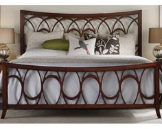 Queen Bed - Art-Nouveau - Sam Levitz Furniture