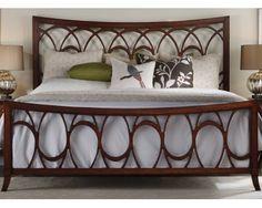 Queen Bed - Art-Nouveau - Sam Levitz Furniture