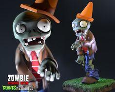 Plants vs. Zombies™: Conehead Zombie Exclusive Resin Figurine -
