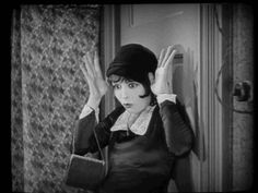 "Clara Bow in a still from one of my favorite moments of ""It."""