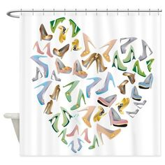 loveshoes Shower Curtain on CafePress.com