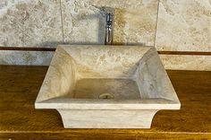 Lavabo bagno in pietra da appoggio 22