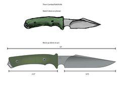 Knife Grinding Jig, Knife Template, Knife Patterns, Knife Making, Tactical Gear, Blacksmithing, Weapon, Blade, Survival