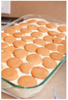 Banana Pudding Recipe Like Paula Deen.and it looks like vanilla wafers on top.they are one of my favorite cookies!