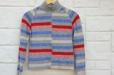 Vintage 90s Laura Ashley Wool Sweater Boho by SycamoreVintage