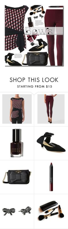 """Bows"" by beebeely-look ❤ liked on Polyvore featuring Joseph Ribkoff, Bobbi Brown Cosmetics, The Row, Vivienne Westwood, NARS Cosmetics, Marc Jacobs and Iman"