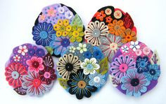 ..... A POCKETFUL OF POSIES! by APPLIQUE-designedbyjane, via Flickr