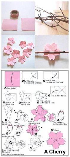 We've always wanted to build origami shapes, but it looked too hard to learn. Turns out we were wrong, we found these awesome origami shapes. Origami Diy, Origami Tutorial, Diy Tutorial, Origami Instructions, Origami Stars, Origami Ideas, Origami Mobile, Origami Folding, Origami Decoration