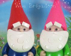 Pot o' Gold for Fairy Garden OOAK miniature by WeeBrigadoon