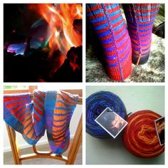 Nurturing Fibres YArn - Fire - Self Stripe Yarn How To Introduce Yourself, Fingerless Gloves, Arm Warmers, Fiber, Weaving, Colour, Knitting, Fingerless Mitts, Color