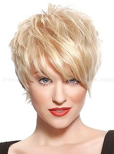 Trendy hairstyles to try in Photo galleries for short hairstyles, medium hairstyles and long hairstyles. Hairstyles for women over Hairstyles for straight, curly and wavy hair. Wavy Haircuts, Pixie Hairstyles, Short Hairstyles For Women, Trendy Hairstyles, Straight Hairstyles, Curly Hair Styles, Hair Styles 2016, Medium Hair Styles, Hair Medium