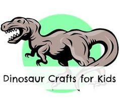 Dinosaur Crafts for Kids. #dinosaur #craft #kids