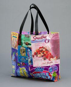 278788fd90b5 Sara Bella Upcycled Tote Bag...such a cool idea..haha cute