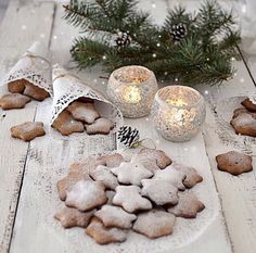 Christmas biscuits and diy cone