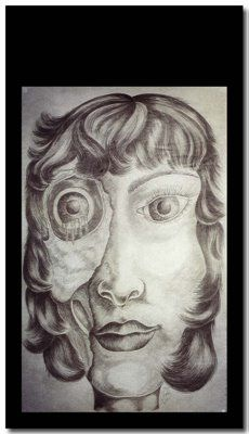 Vanity - from the Deadly Sins series - Large Drawing on Chinese paper