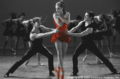 What do you think of my first color splash?  I ♥love♥ red ballet shoes!!