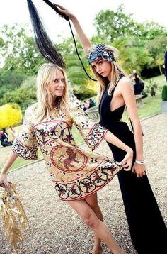 Boho girls #bohemian #boho #wedding