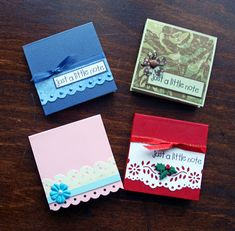 Ideas for Scrapbookers: Last Minute Gifts