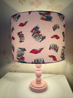 Roald Dahl 'Matilda' books illustrated by Quentin Blake Handmade 30inch Drum Lampshade Lighting