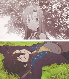 Asuna and Kirito the turning point in their relationship! Gif