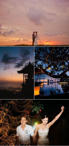Gorgeous destination wedding in Bali, shot by Wainwright Weddings.
