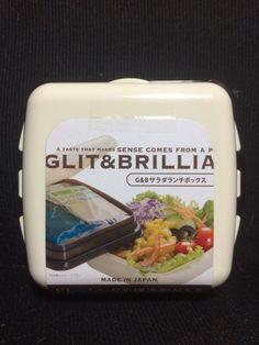 GLIT & BRILLIA Salada Lunch Box Bento Box Beige #GLITBRILLIA