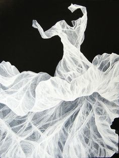 Turn-Margaret Ackland-Oil on Linin Ghost Of You, Art Deco Illustration, Hyperrealism, Mark Making, Black And White Photography, Textile Art, All Art, Beautiful World, Art Boards