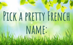 Pick Some Baby Names And We'll Tell You About Your Firstborn Child Kid Names, Baby Names, Disney Test, Fun Quizzes To Take, Playbuzz Quizzes, French Names, Interesting Quizzes, Quiz Me