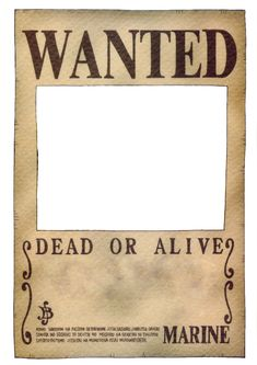 One Piece Wanted Poster by on DeviantArt Ace One Piece, One Piece Anime, One Piece Comic, One Piece Luffy, One Piece Wallpaper Iphone, Anime Wallpaper Phone, One Piece Pictures, One Piece Images, One Piece Bounties