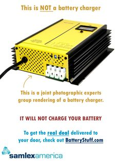 Samlex Smart Battery Chargers employ advanced switch mode technology which makes them very efficient, lightweight and quiet. Every Samlex charger utilizes LED monitoring, as well as having protections against short circuit, reverse battery connection and over temperature problems. Take a look at the different units offered by Samlex America to see if they will suit your needs. http://www.batterystuff.com/battery-chargers/brands/samlex/ #batterychargers #SamlexAmerica