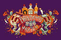 Brindemos por México on Behance