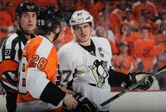 Pittsburgh Penguins vs Philadelphia Flyers!