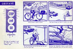 Macabre 1969 Bike Safety Manual