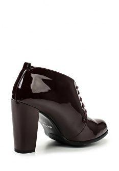 Ботильоны Betsy, цвет: бордовый. Артикул: BE006AWGBY61. Женская обувь / Ботильоны