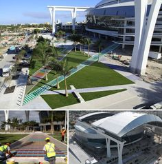 Marlins Stadium - Big Opening April 4th! Carlos Cruz Diez