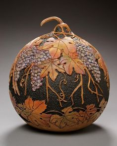 401px-500px-sunderland-carved-gourd.jpg.  It may be a gourd but it's also a good idea for decorating a wheel thrown pot