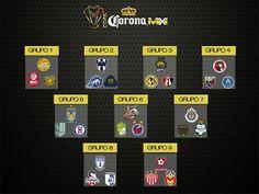 Blog de palma2mex : Así se jugará la COPA Corona MX Apertura 2017