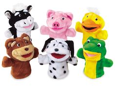 Big Mouth Animals Puppet Set at Lakeshore Learning