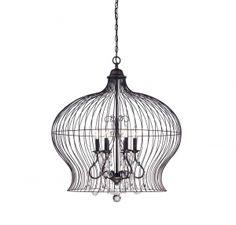 Birdcage 6 Light Pendant