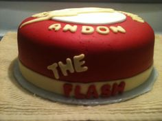The Flash Cake Side View