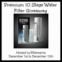 Barbara's Beat: Premium 10 Stage Water Filter 12/15