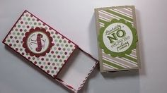 Envelope punch board matchbox * Diane Dimich - YouTube