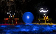 Light Painting Photo by Luis Pato and Thomas Lange