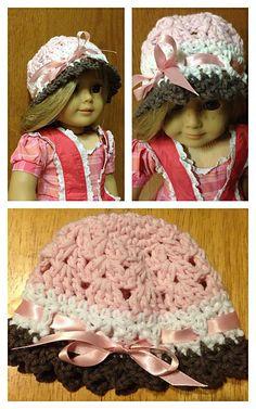 Ravelry: American Girl Doll & Preemie Baby Hat Pattern Collection pattern by Crochet by Jennifer